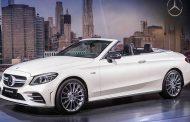 شركة مرسيدس تطلق سياراتها  الجديدة موديل AMG C 43 Cabrio....