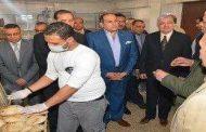 محافظ سوهاج يشدد علي مسئولي مديريات التموين بضرورة تكثيف الحملات الرقابية علي الاسواق