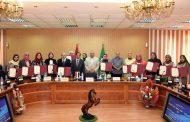 بالصور:تكريم أعضاء فرع المجلس القومي للمرأة بالشرقية