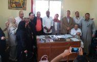 بالصور | حفل تكريم الدكتورة «منى المتبولى» رئيسة الوحدة المحلية بقرية ميت طريف سابقآ