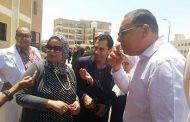غراب: يتفقد اقسام مستشفى جامعة قناة السويس ويطمئن علي صلاحية مياه الغسيل الكلوي.