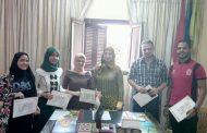 شرين عطا ...تكرم المشاركين في برتوكول التعاون الشبابي ومنظمة اليونسكو...