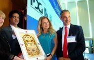 النادي الملكي الدبلوماسي للأمم المتحدة يكرم الاقتصادية المصرية «نانسي المغربي»