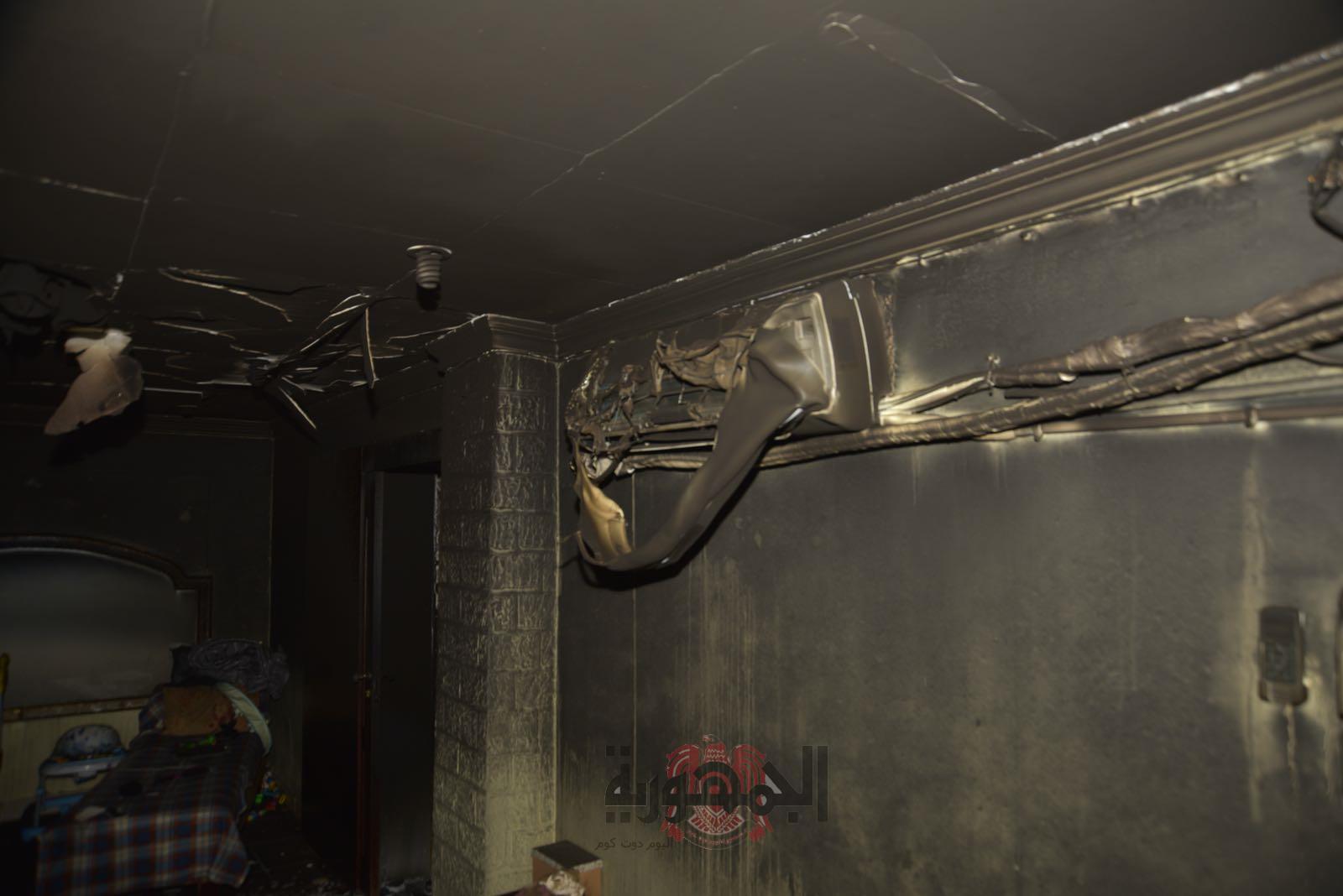 حريق منزل في العارضية بالكويت