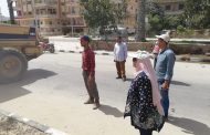 بالصور..إزالة مخالفات مباني في المهد بمدينه جمصه