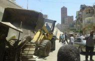 حملة مكبرة لازالة الاشغالات بمدينة سمنود غربية