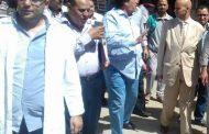 بالصور:وكيل صحة الشرقية يتفقد الخدمات الصحية بمركز ابو حماد