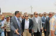 وزير البيئة يتفقد اعمال الانتهاء من رفع التراكمات بمقلب ابو خريطة