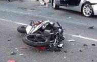 مصرع قائد دراجة بخارية وإصابة آخر بعد اصدامه بسيارة  أمام عزبة الإصلاح الزقازيق -شرقية