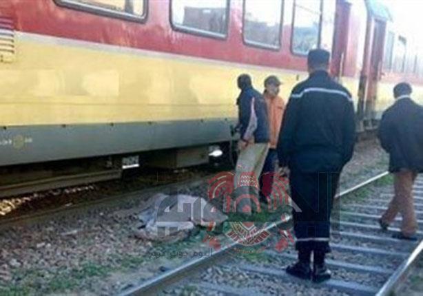 مصرع طالب اسفل عجلات قطار بمنطقة ابوالاخضر الزقازيق..شرقية
