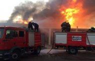 الحماية المدنية تسيطر على حريق بقرية مشتول القاضي الزقازيق -شرقية