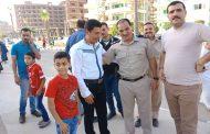 بالصور.. آلاف المصلين يؤدون صلاة عيد الفطر بمساجد جمصه