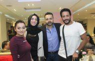 بالصور...محمد نور وراندا البحيري وطارق صبري  في ضيافة رجل الاعمال محمد عاشور