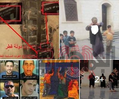 بالصور... جرائم الارهاب داخل مدينة درنة