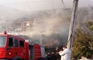 الحماية المدنية تسيطر على حريق بناحية قرية الزنكلون -  شرقية
