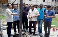 بالصور..صيانة مستشفى الإسماعيلية العام تنهي إصلاح خط المياه وتركيب غاطسة البيارة الرئيسية