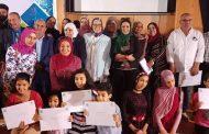 بالصور : حفل ختام أنشطة مياه القناة وتكريم المشاركين بمكتبة مصر العامة بالإسماعيلية.