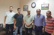 لاعبا منتخب مصر للهوكى فى صفوف صيد المحلة أستعدادا للدورى الممتاز