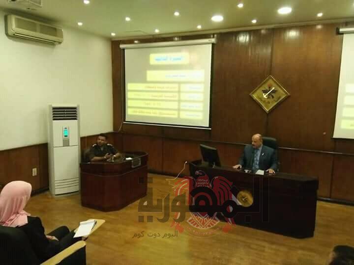 شباب الجمهورية فى دورة التفاوض بأكاديمية ناصر العسكرية