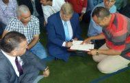 بالصور: محافظ الإسماعيلية يشهد عقد قران نجل السكرتير العام المساعد بمسجد ابو بكر الصديق