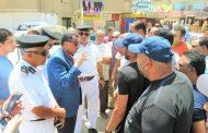 بالصور : مدير أمن الإسماعيلية يستجيب لأهالي حي ثاني ويبحث نقل موقف الحكر العشوائي