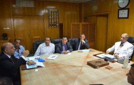 محافظ الاسماعيلية يستقبل وفد ممثلي مركز تحديث الصناعة التابع لوزارة التجارة والصناعة.