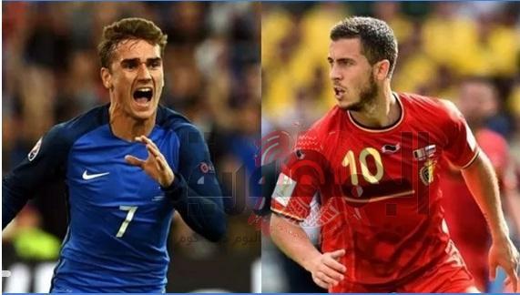 ملخص اهداف مباراة اليوم بلجيكا وفرنسا اليوم الثلاثاء 10يوليه كأس العالم 2018