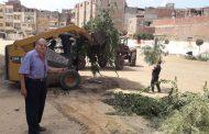 حملة نظافة شاملة بقرية الراهبين وتشكيل غرفة طوارىء للعيد